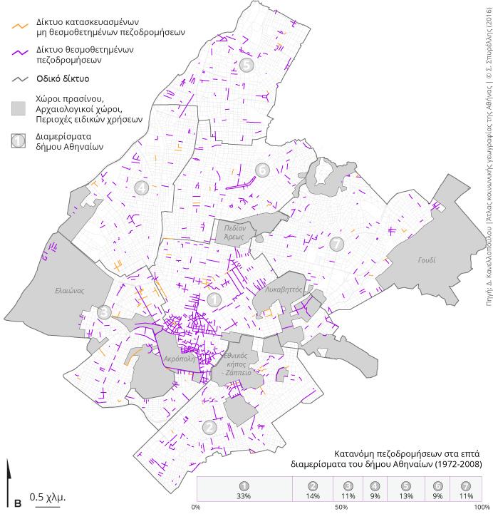 Pezodromoi Sthn A8hna Athens Social Atlas