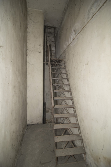 Photo 14: Emergency exit room of a shelter. The 7-meter-long staircase, leads onto Karageorgi Servias street