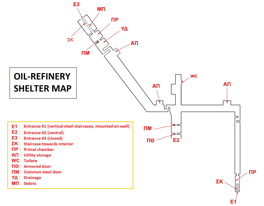 Photo 2: Refinery shelter plan