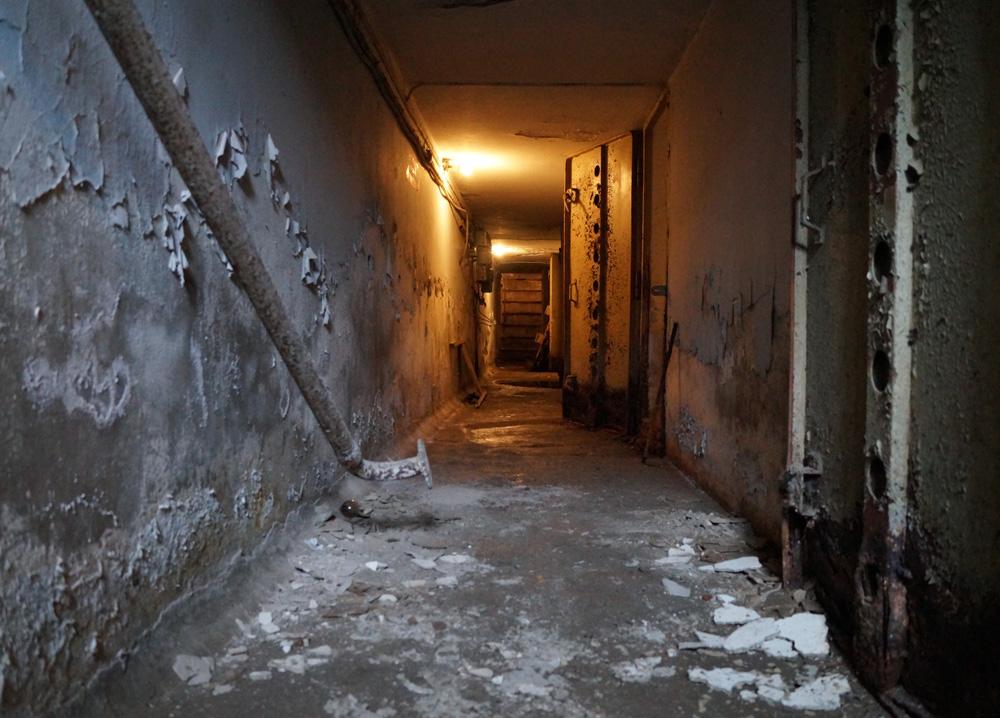 Photo 6: Underground corridor of a shelter