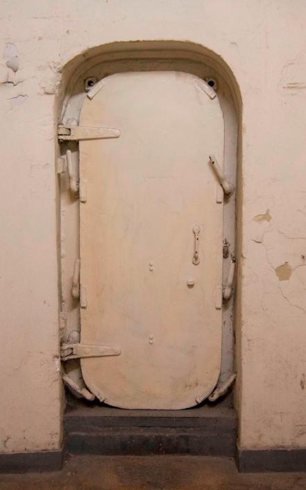 Photo 8: A heavy armored door