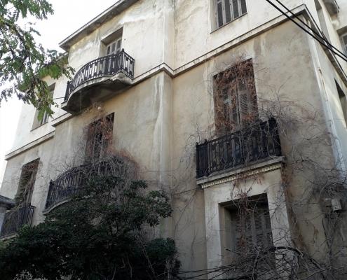 Photo 14: Exemples d'architecture éclectique à Néo Faliro. Source : Ioannis Georgikopoulos