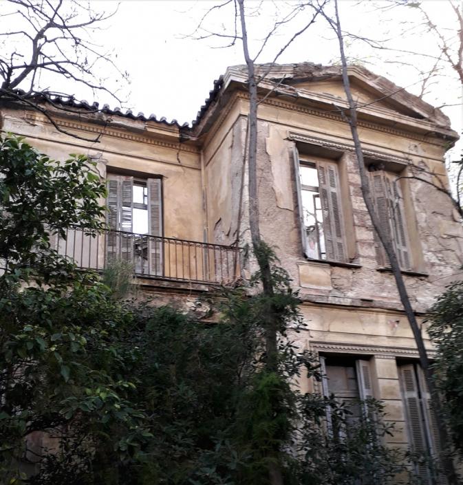 Photo 15: Exemples d'architecture éclectique à Néo Faliro. Source : Ioannis Georgikopoulos