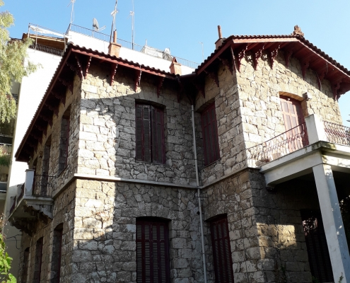 Photo 16: Exemples d'architecture pittoresque à Néo Faliro. Source : Ioannis Georgikopoulos