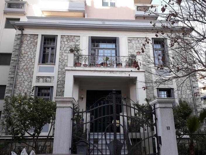 Photo 2: Bâtiments d'avant-guerre à Néo Faliro. Source : Ioannis Georgikopoulos