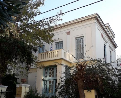 Photo 8: Exemples représentatifs d'architecture mixte teintés d'éléments de néoclassicisme populaire et de haut néoclassicisme à Néo Faliro. Source : Ioannis Georgikopoulos
