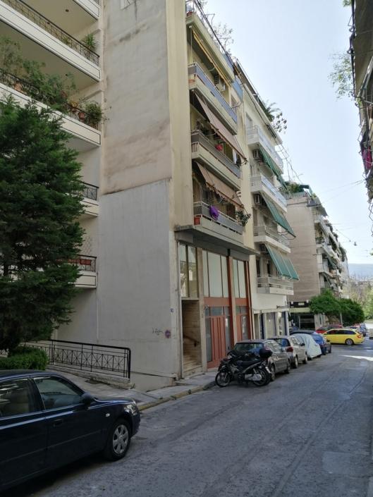 Photos 6: Sous la limite imaginaire des rues Zacharitsa et Tsami Karatasou. Source: G Dimitropoulos 2020