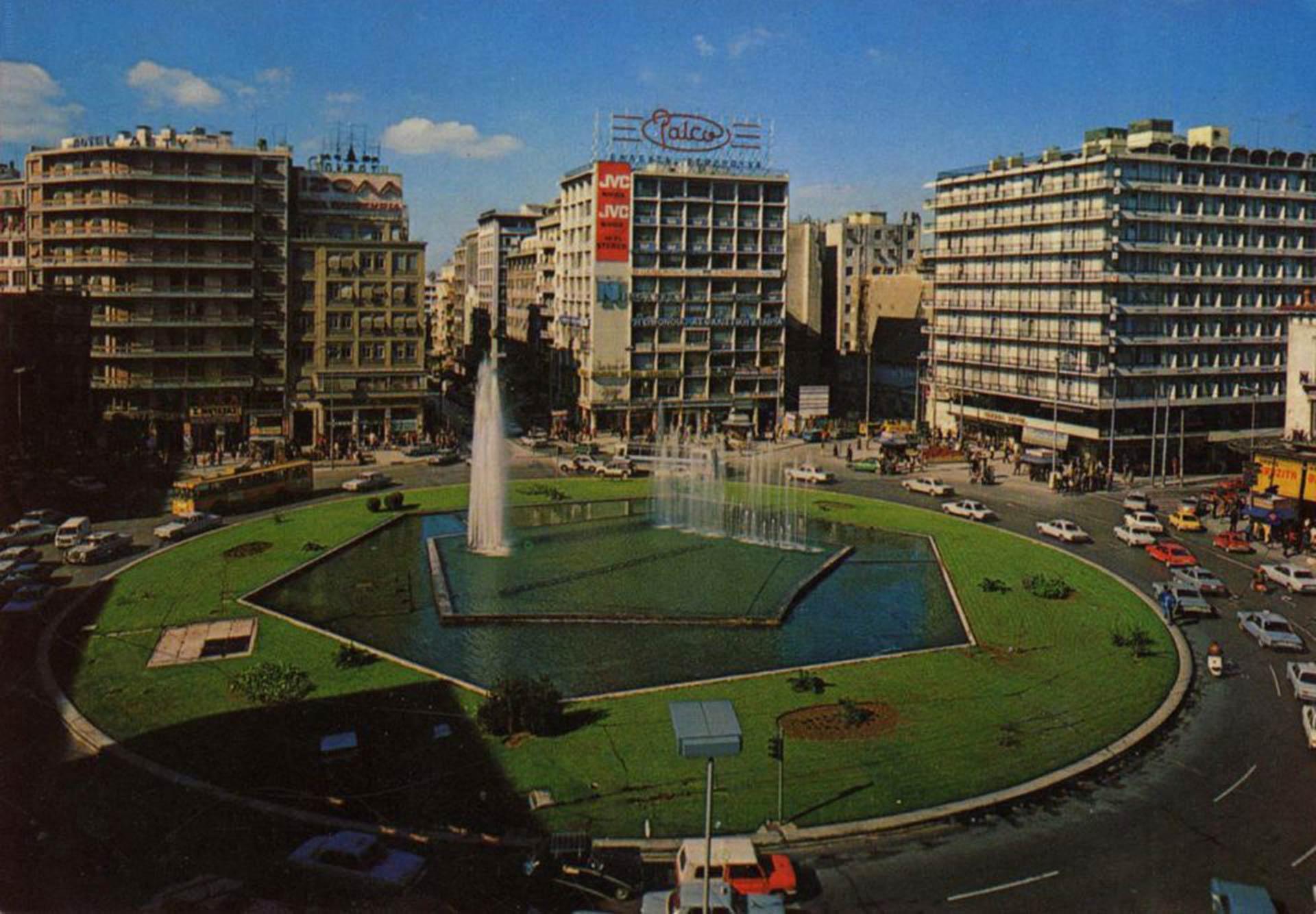 Omonia square - Athens...